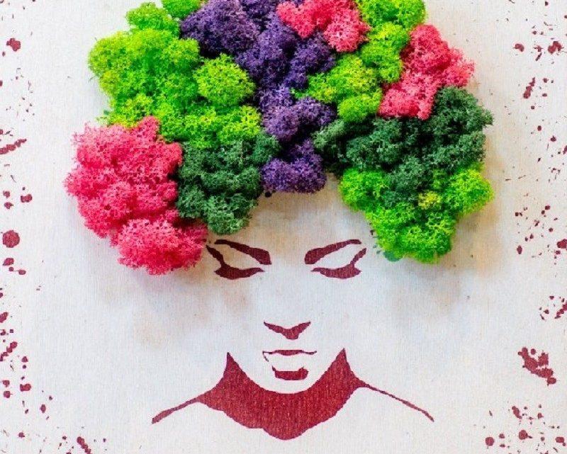 artflora tablou mix licheni