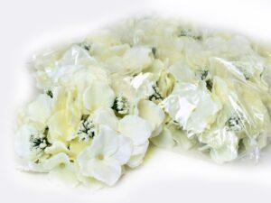 hortensia planta artificiala alb crem 1