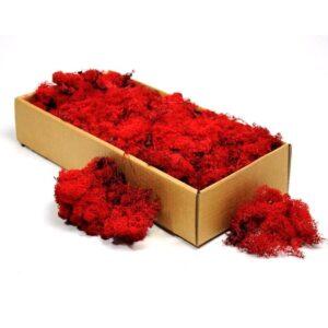 licheni decorativi red artflora 500g 1