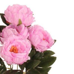 bujori artificiali roz h45 1